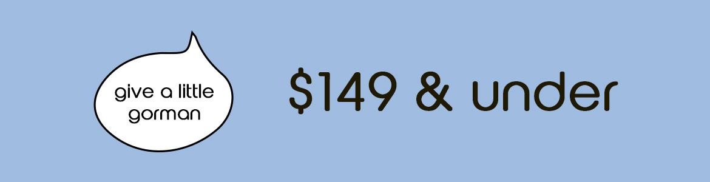 $149 & Under