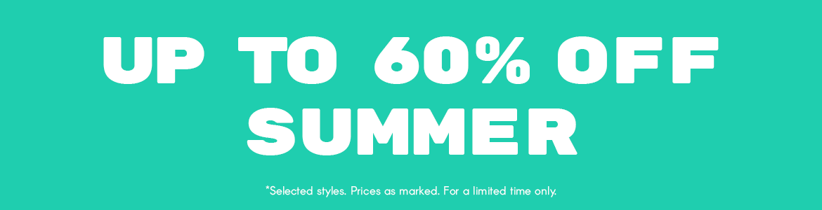 Up to 60% Off Summer