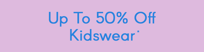 50% Off Kids