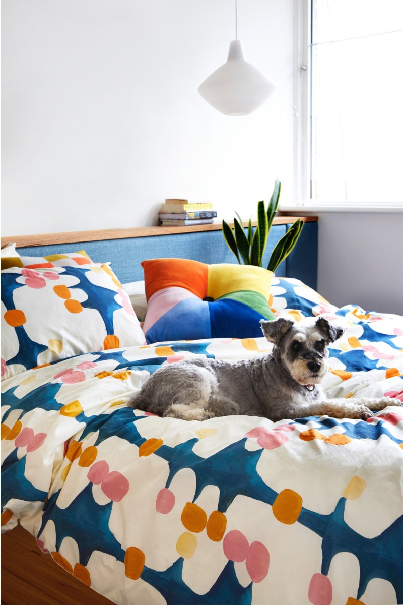 Berry Picking Quilt Bedding Set Queen