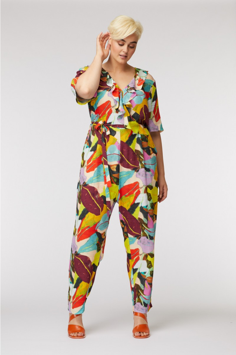 Broad Leaf Pantsuit