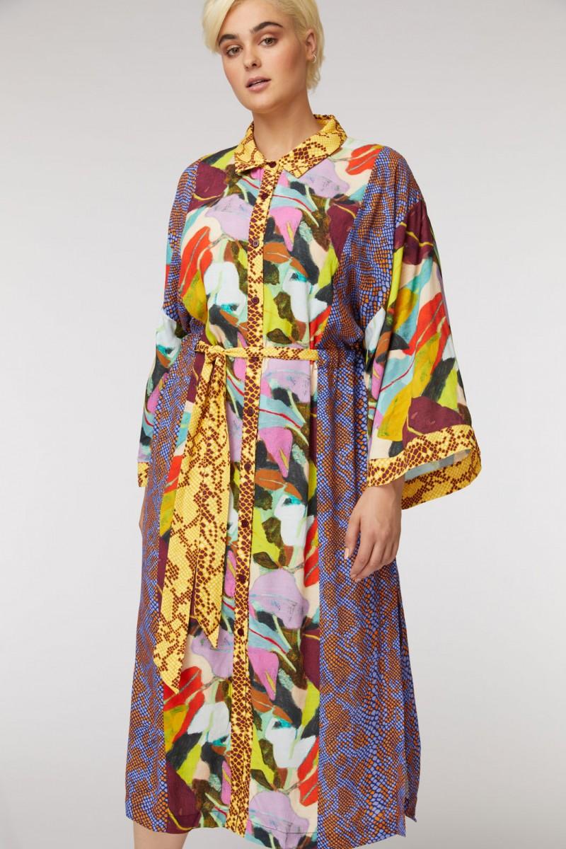 Broad Leaf Splice Dress