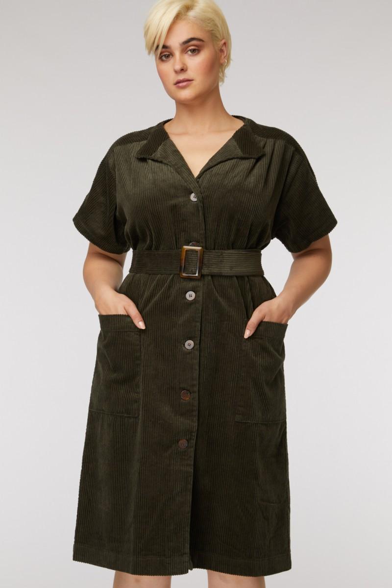 Chloe Corduroy Dress