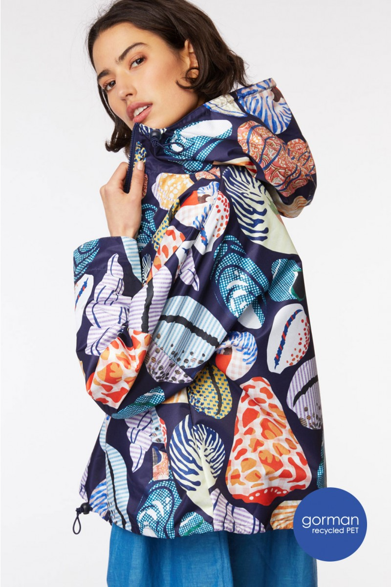 She Sells Cropped Raincoat