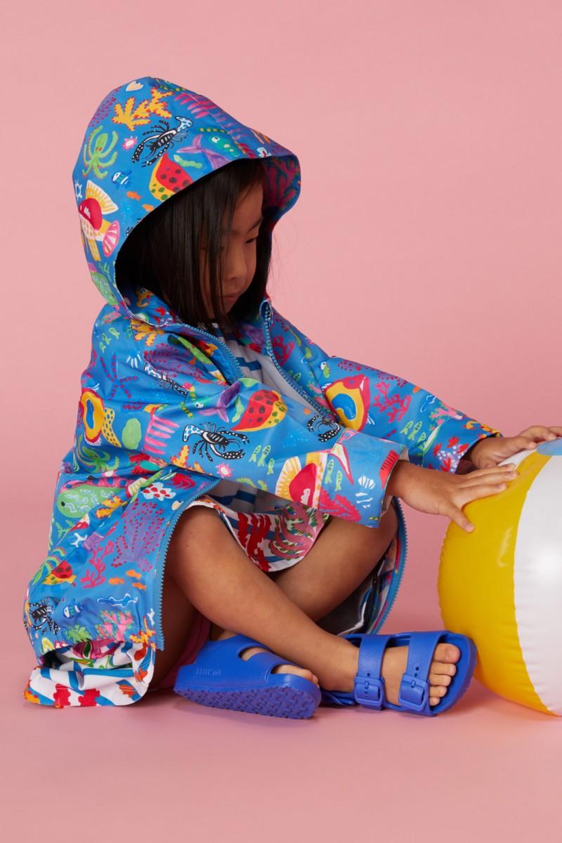 Sea You Round Raincoat