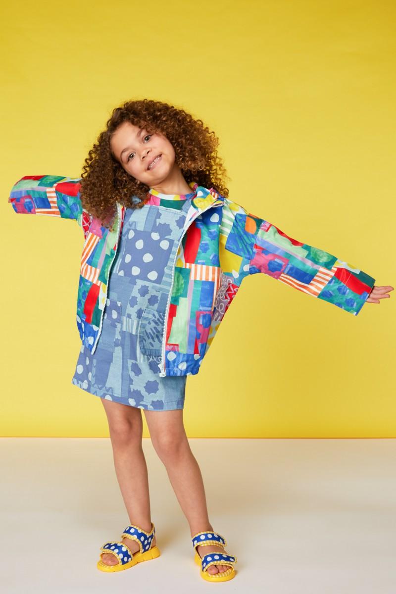 Spotty Blocky Raincoat
