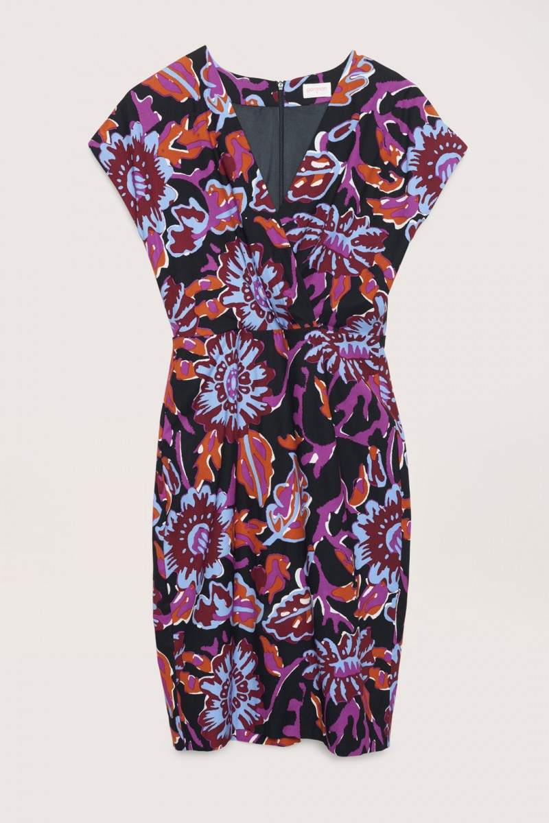 Monks Garden Pencil Dress
