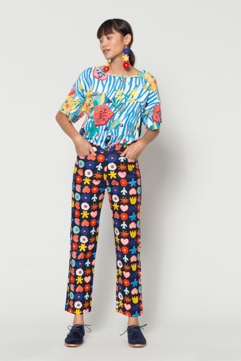 Flower Bed Pants
