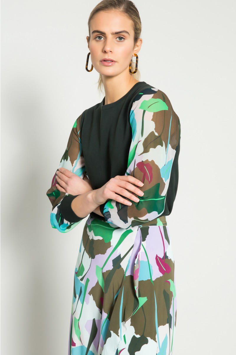 Philodendron Silk Skirt