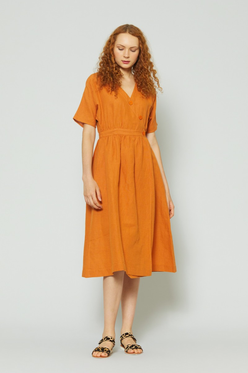 Mary Anne Wrap Dress