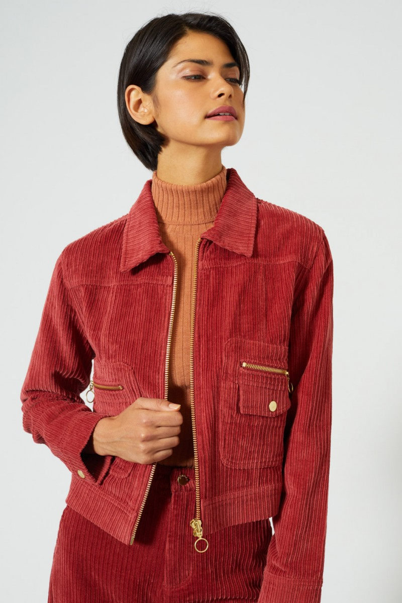 Donna Cord Jacket