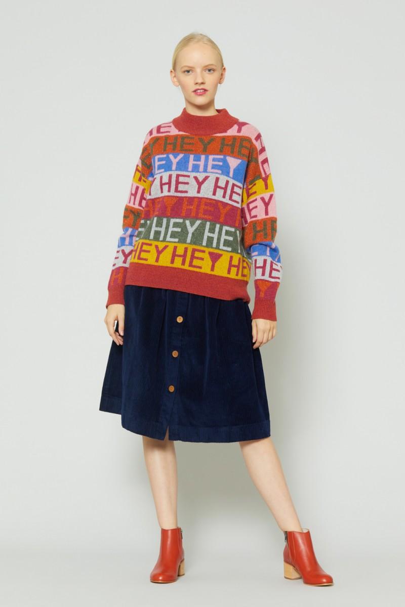 Eva Cord Skirt