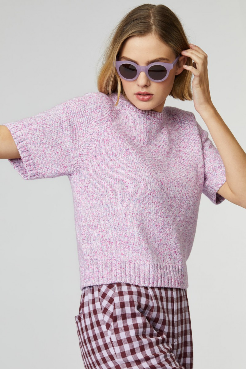Fairy Bread Knit Top