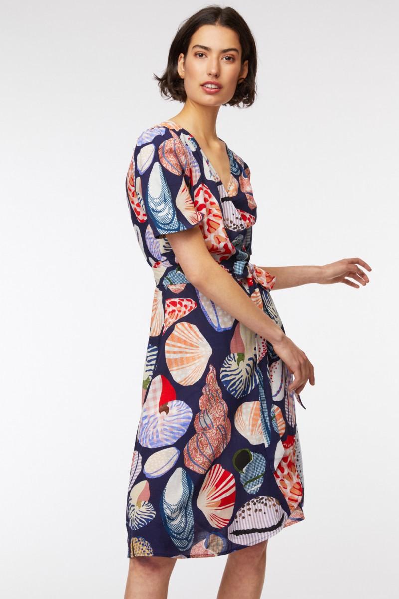 She Sells Wrap Dress