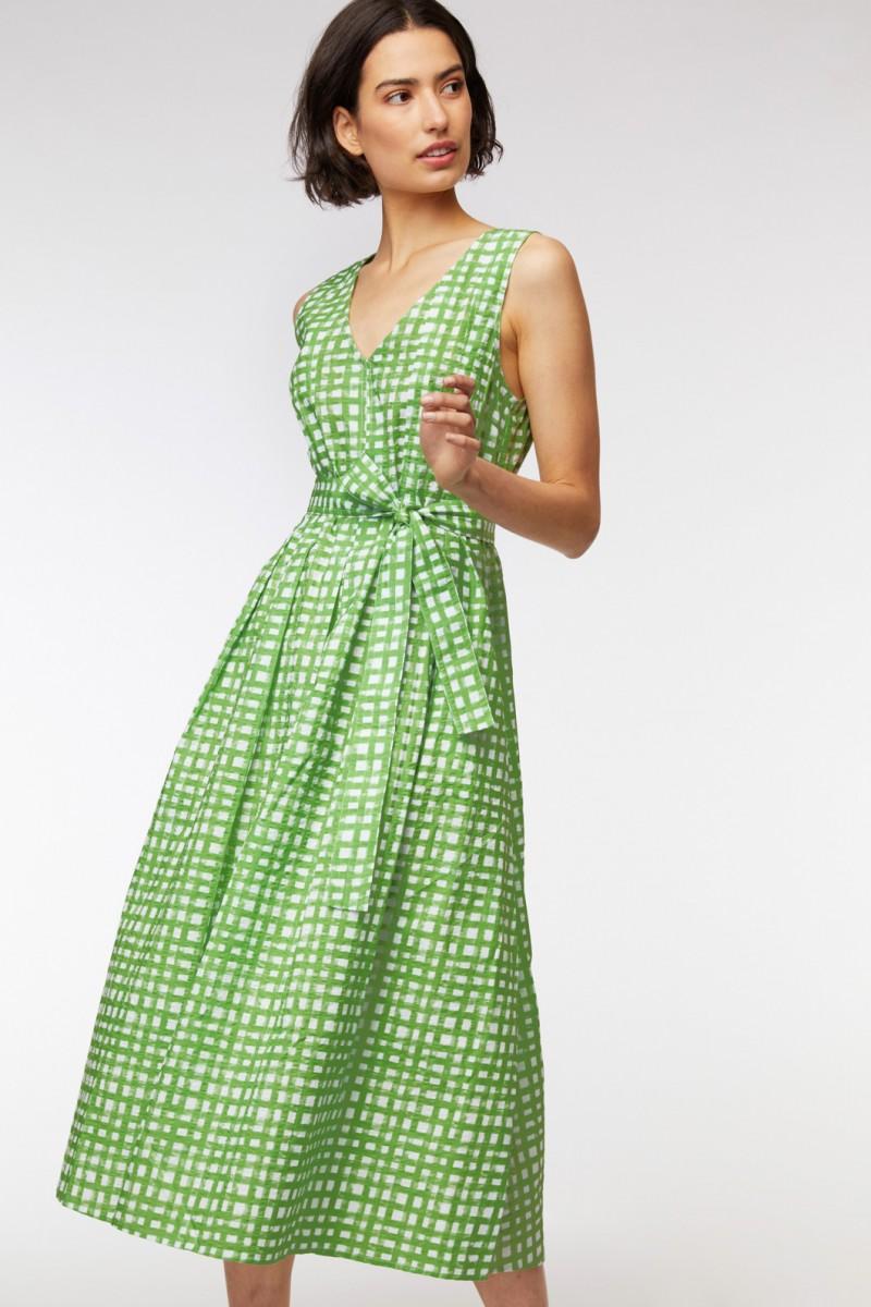 Safety Net Long Dress