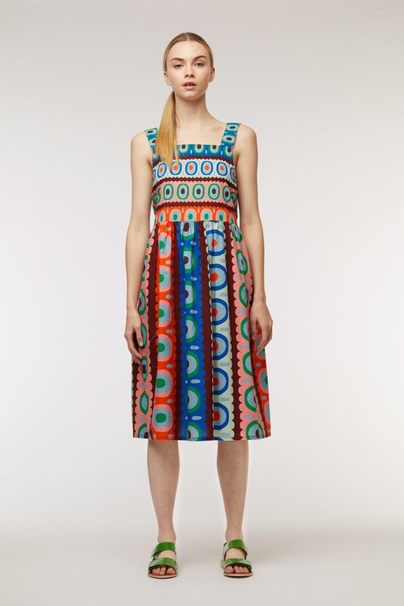 Nazar Apron Dress