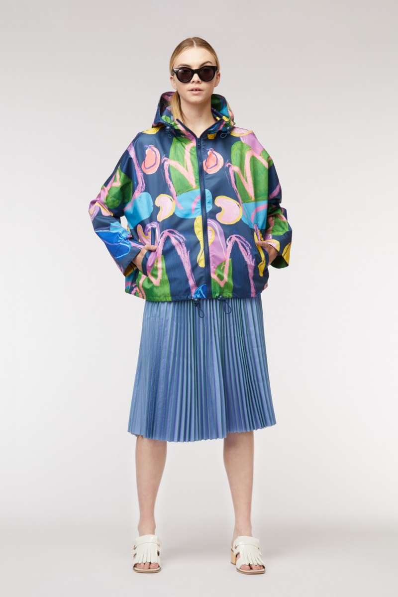 27 Years Cropped Raincoat