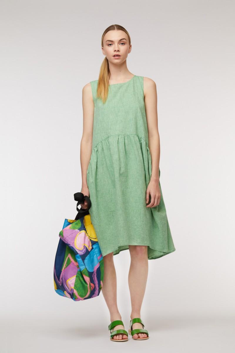 Chambray Tulip Dress