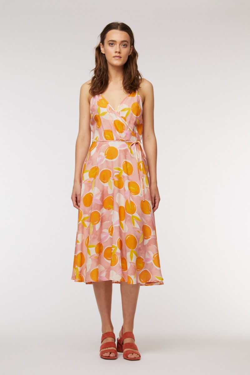 Mandarino Wrap Dress