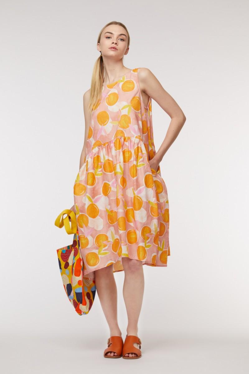 Mandarino Tulip Dress