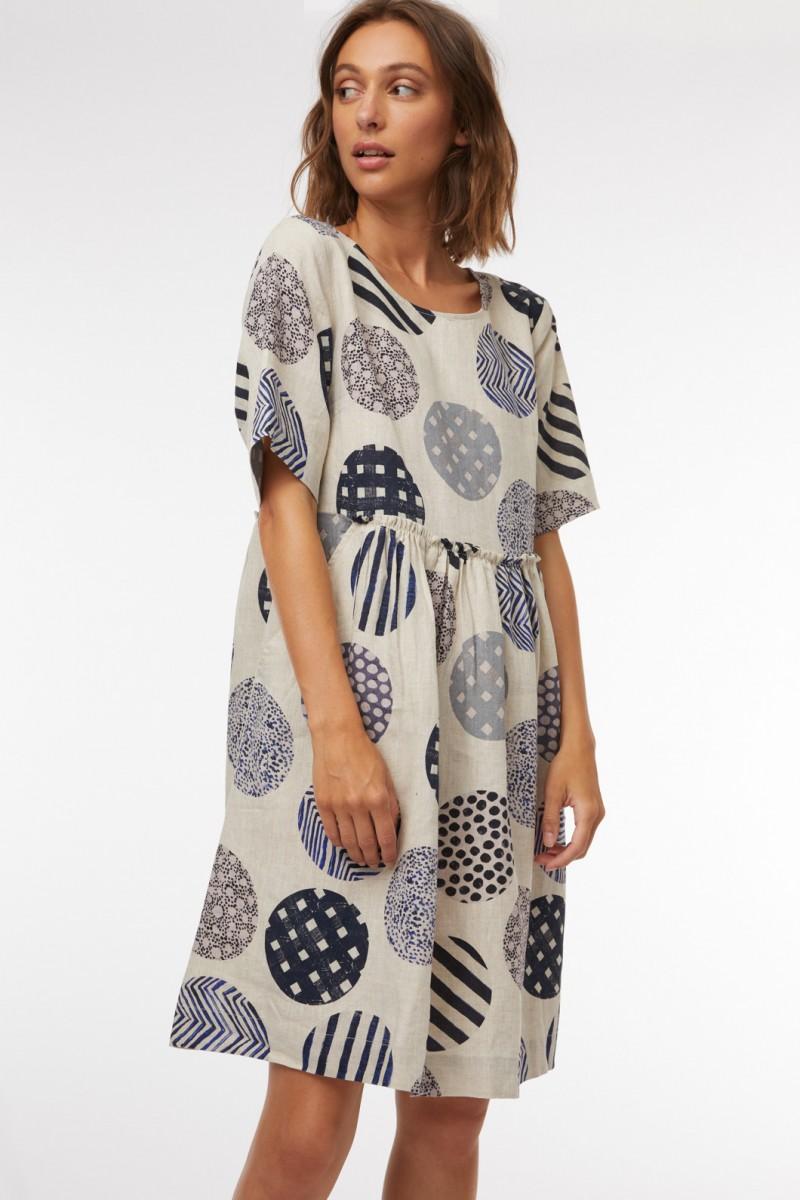 Endless Spot Smock Dress