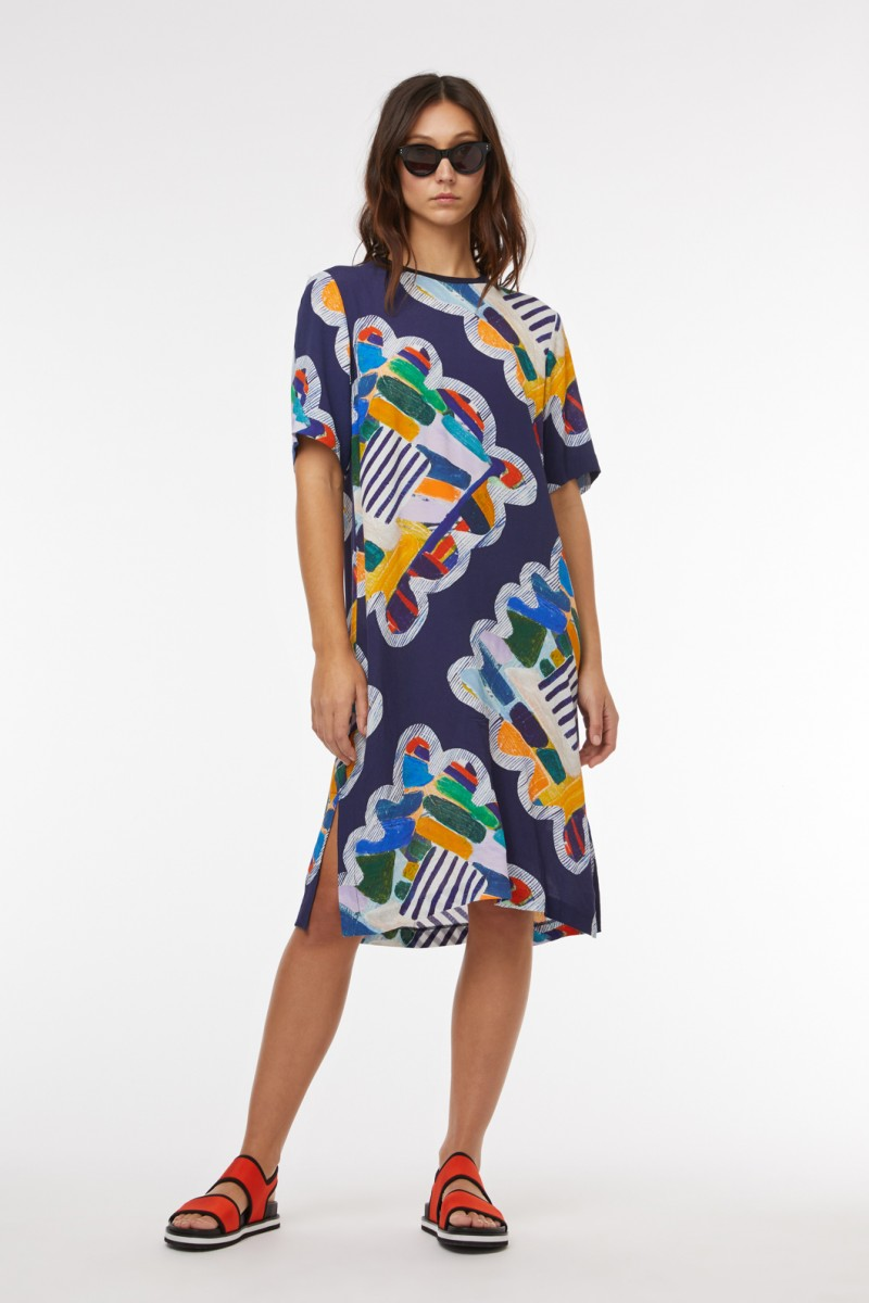 Kaleidoscope Tee Dress