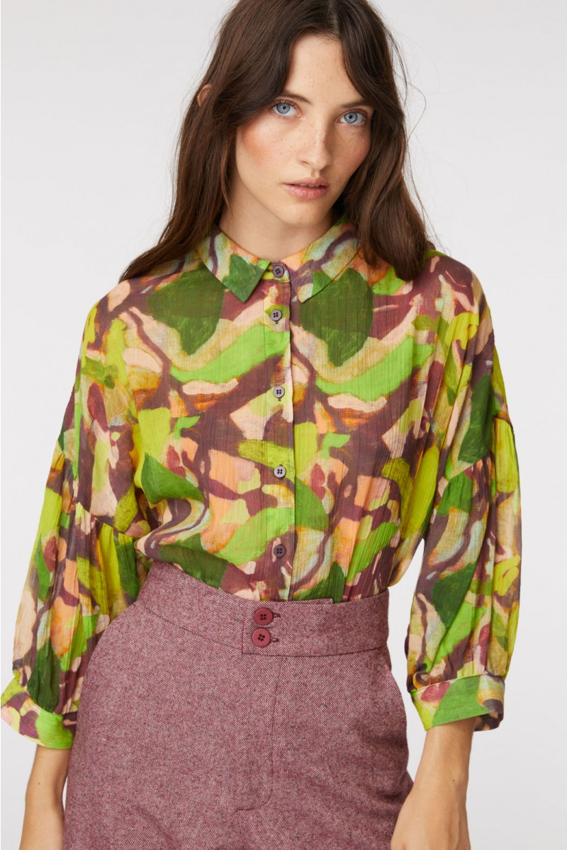 Maple Leaf Blouse