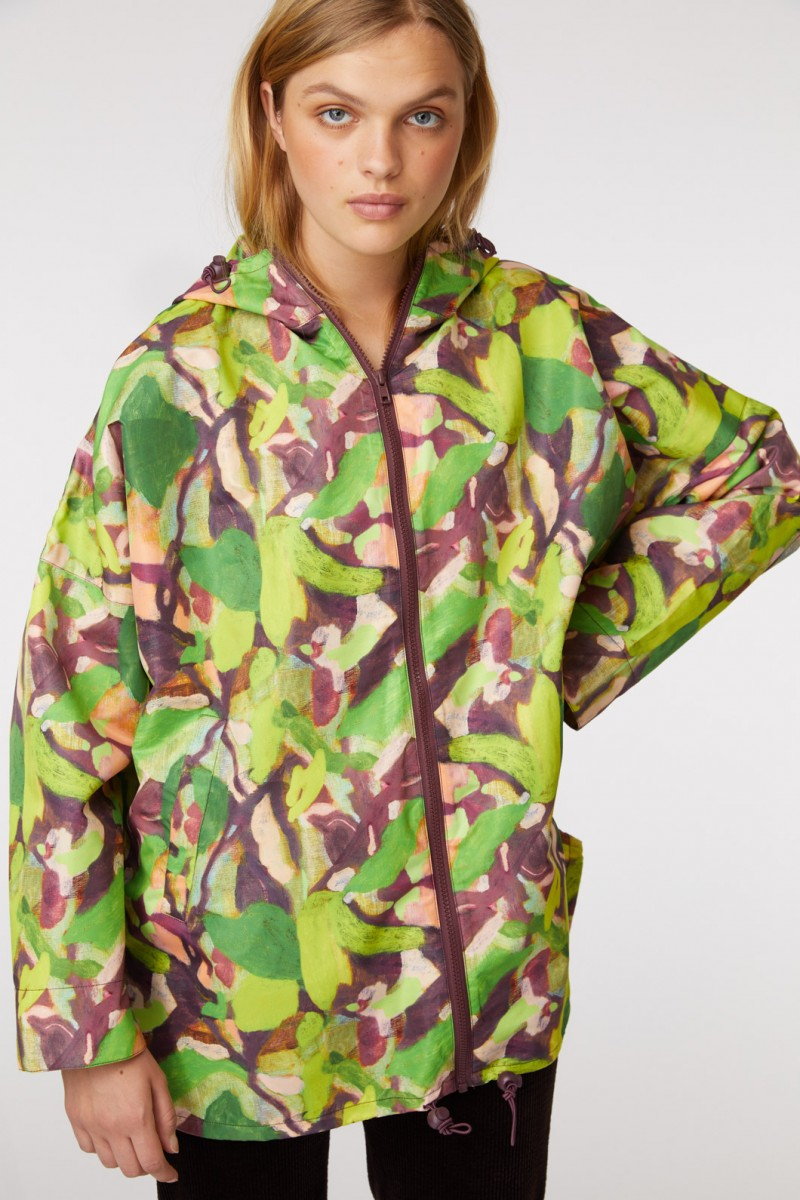 Maple Leaf Raincoat
