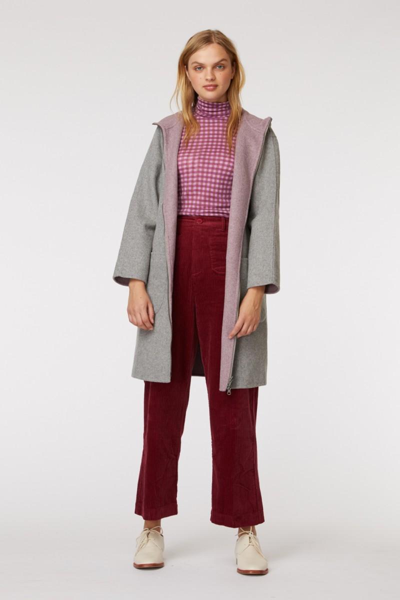 Hooded Reversible Coat
