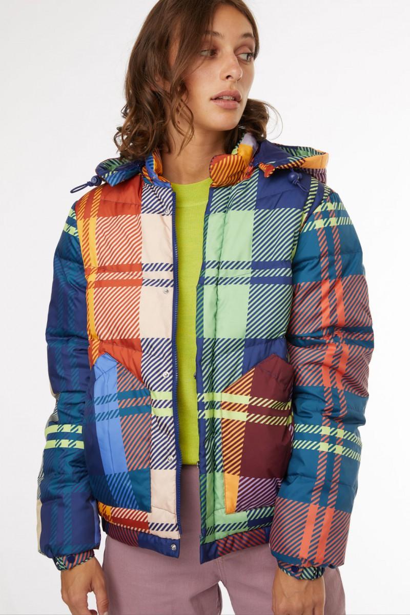 Tartan Puffer Jacket