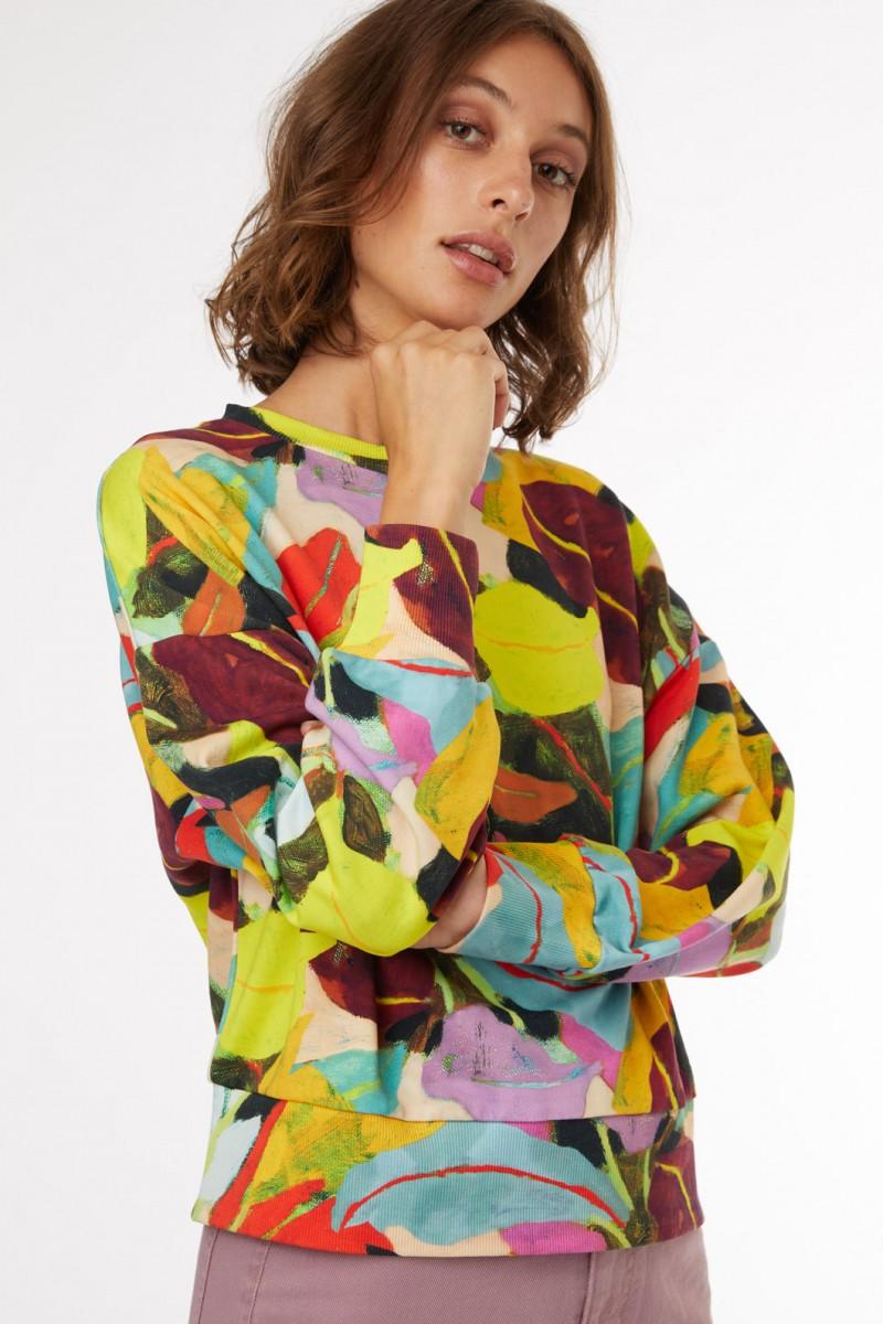 Broad Leaf Sweater