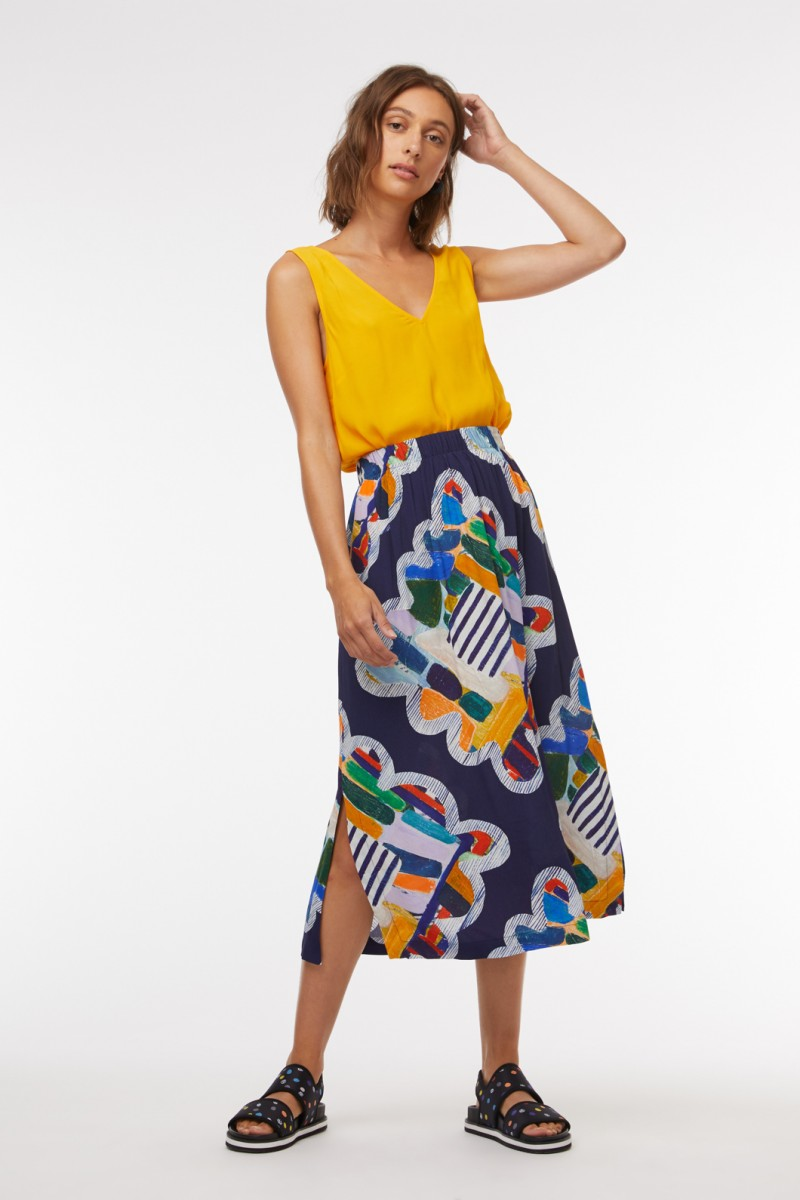 Kaleidoscope Scarf Skirt
