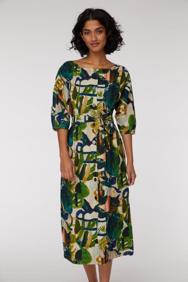 Casa Verde Dress