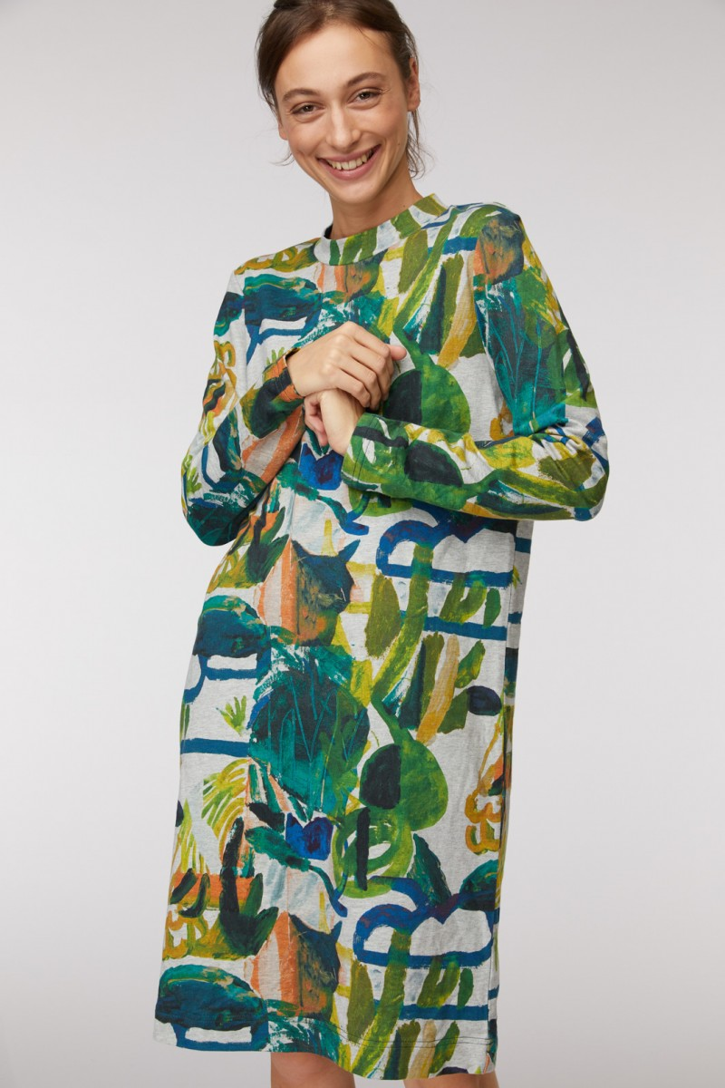 Casa Verde Jersey Dress