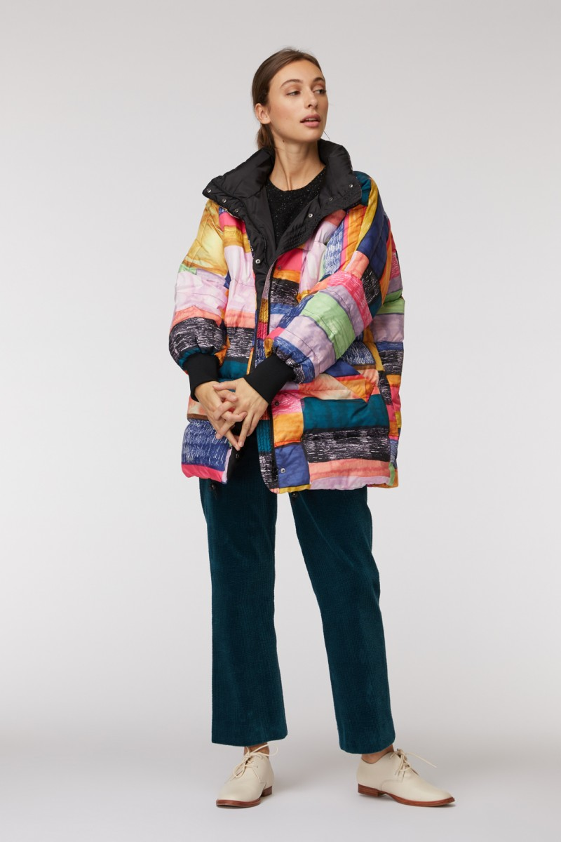 Line Up Puffer Jacket