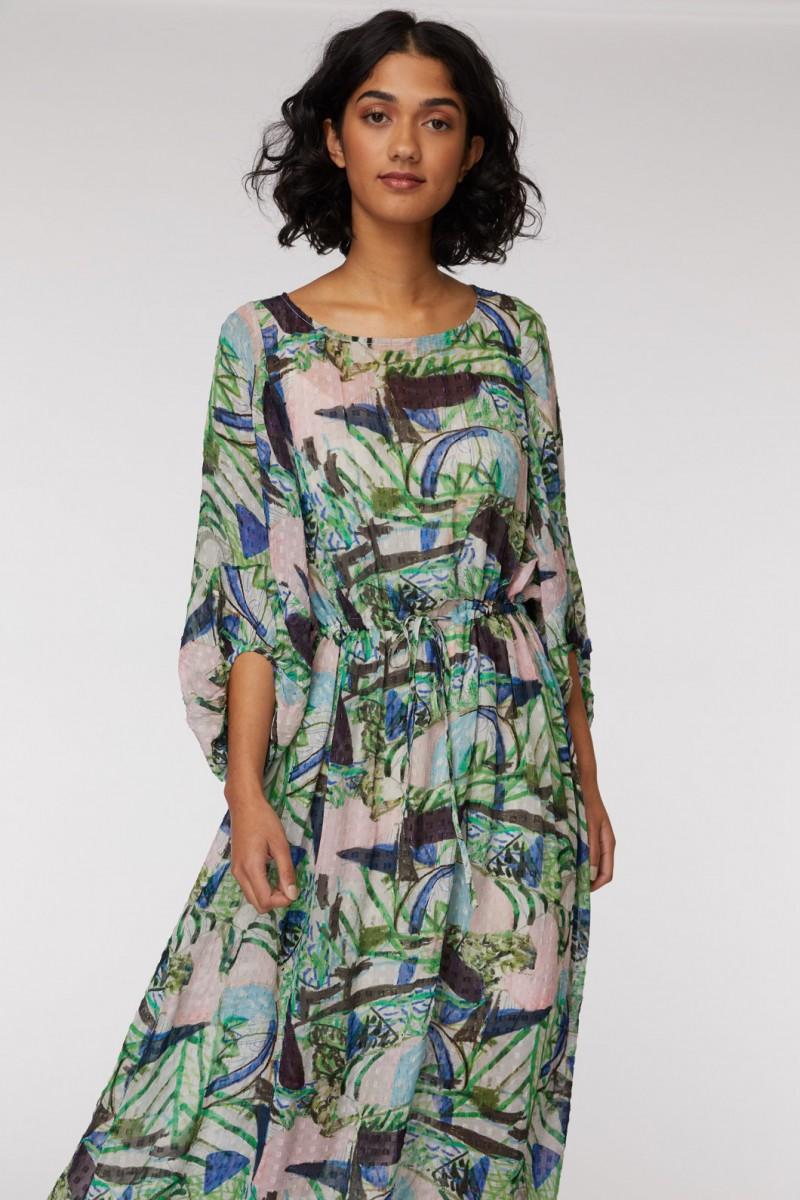 Winter Garden Long Dress