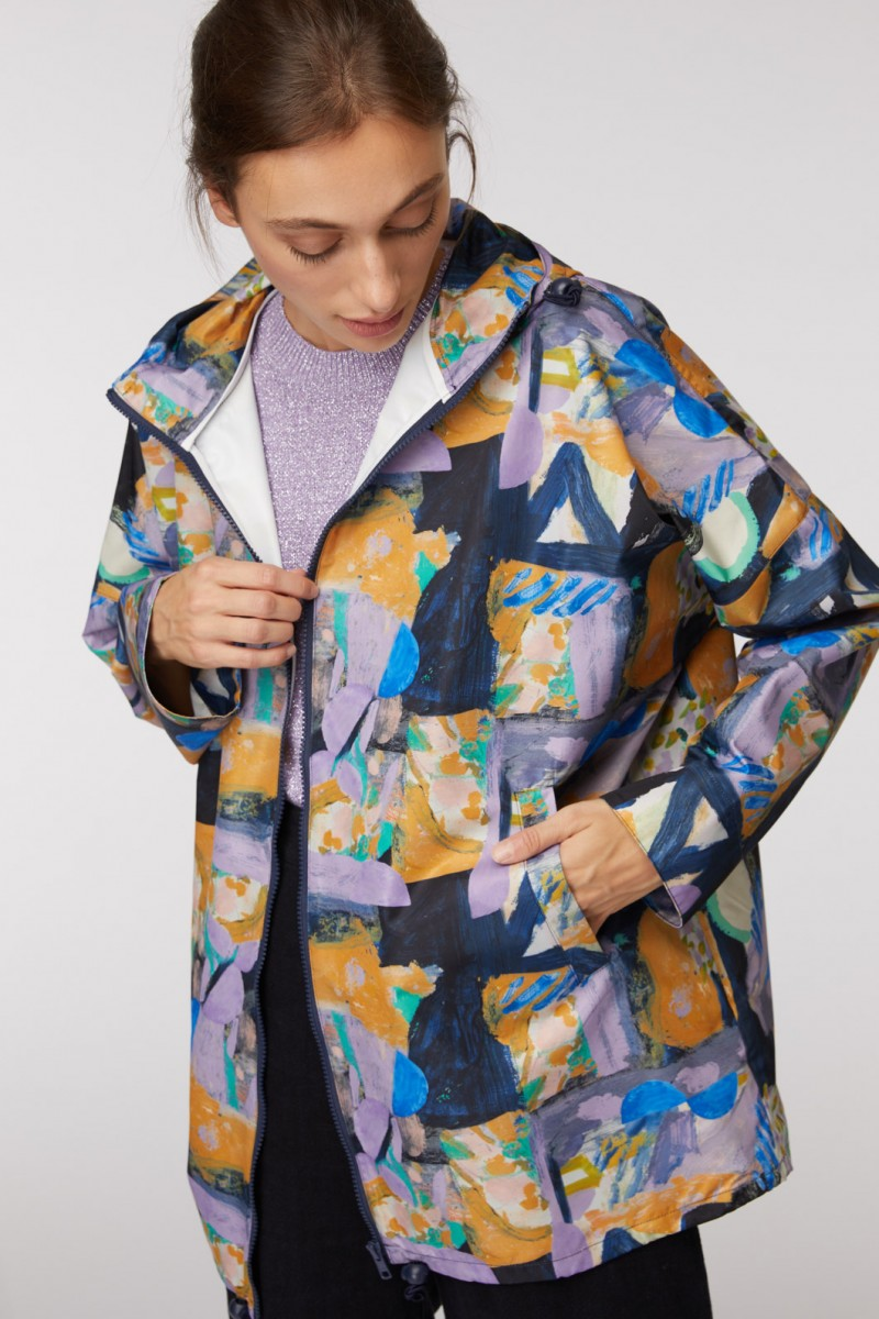 Mountain To Sea Raincoat