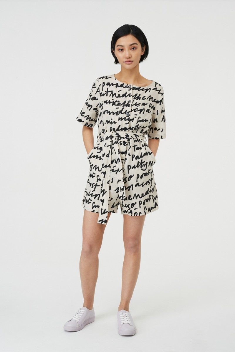 Lost In Translation Playsuit