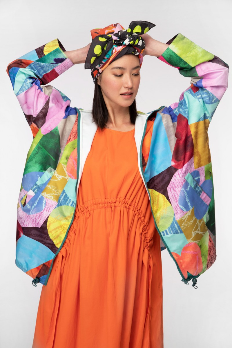 Colour Drop Raincoat