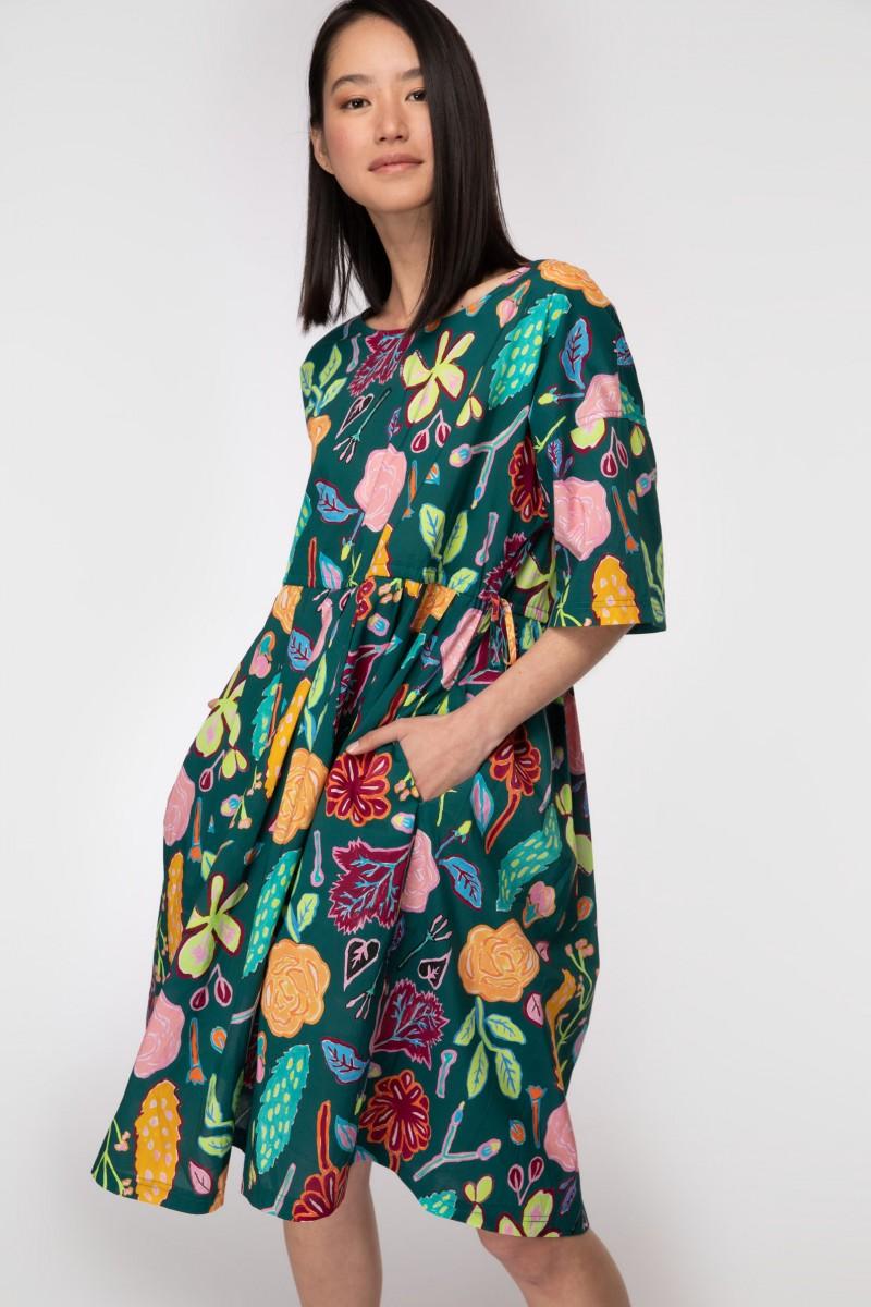 Pitched Petals Sadie Dress