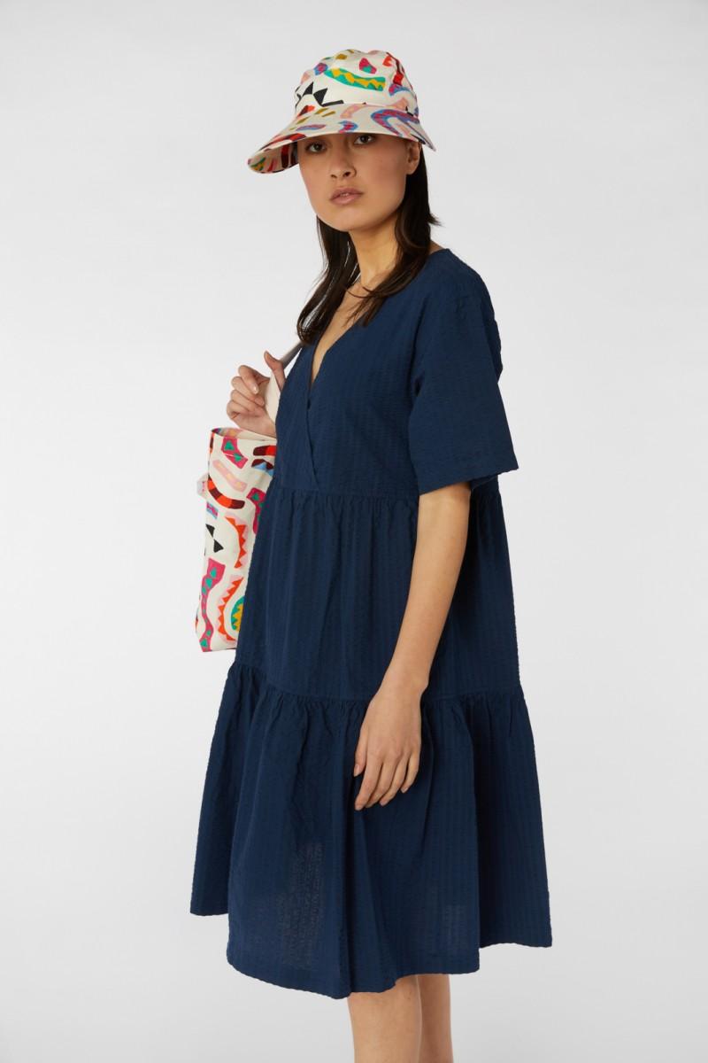 Smock Wrap Dress