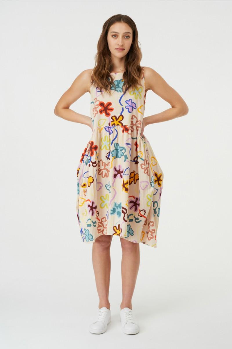 Flowerbomb Tulip Dress