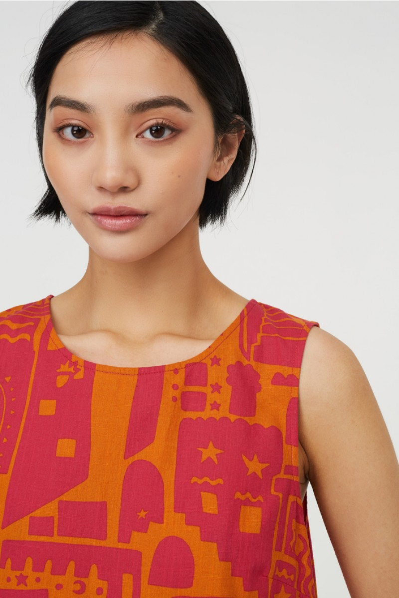 Saffron City Dress