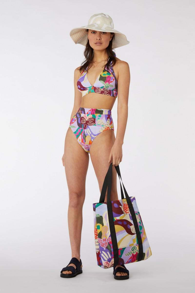 Wild Orchid Bikini Top