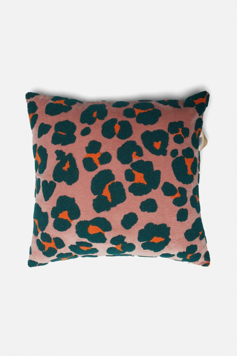 Psychedelic Fur Tufted Cushion