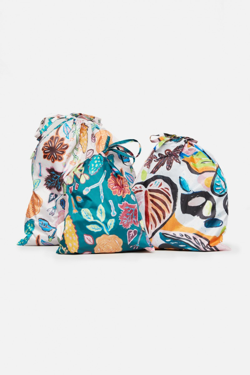 Pitched Petals Resuable Bag