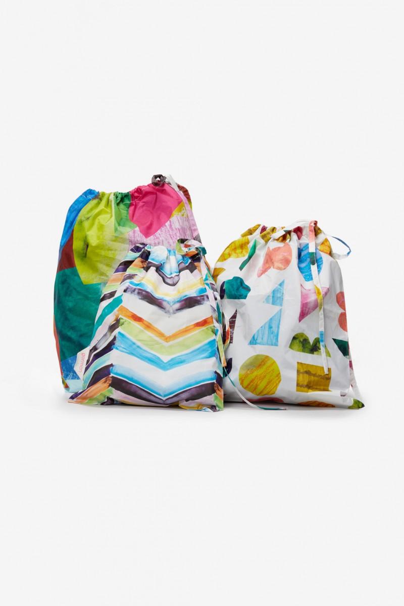 Colour Drop Resuable Bag Set