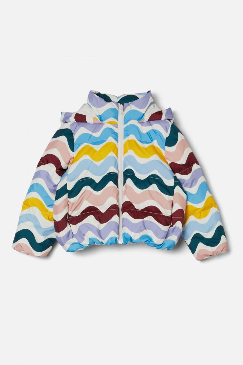 Snakey Puffer Jacket