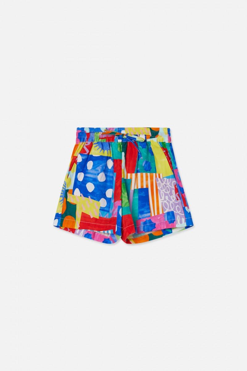 Spotty Blocky Shorts