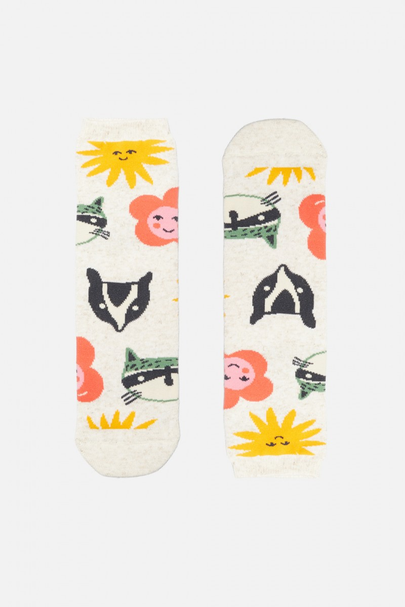 Animal Mask Sock PK